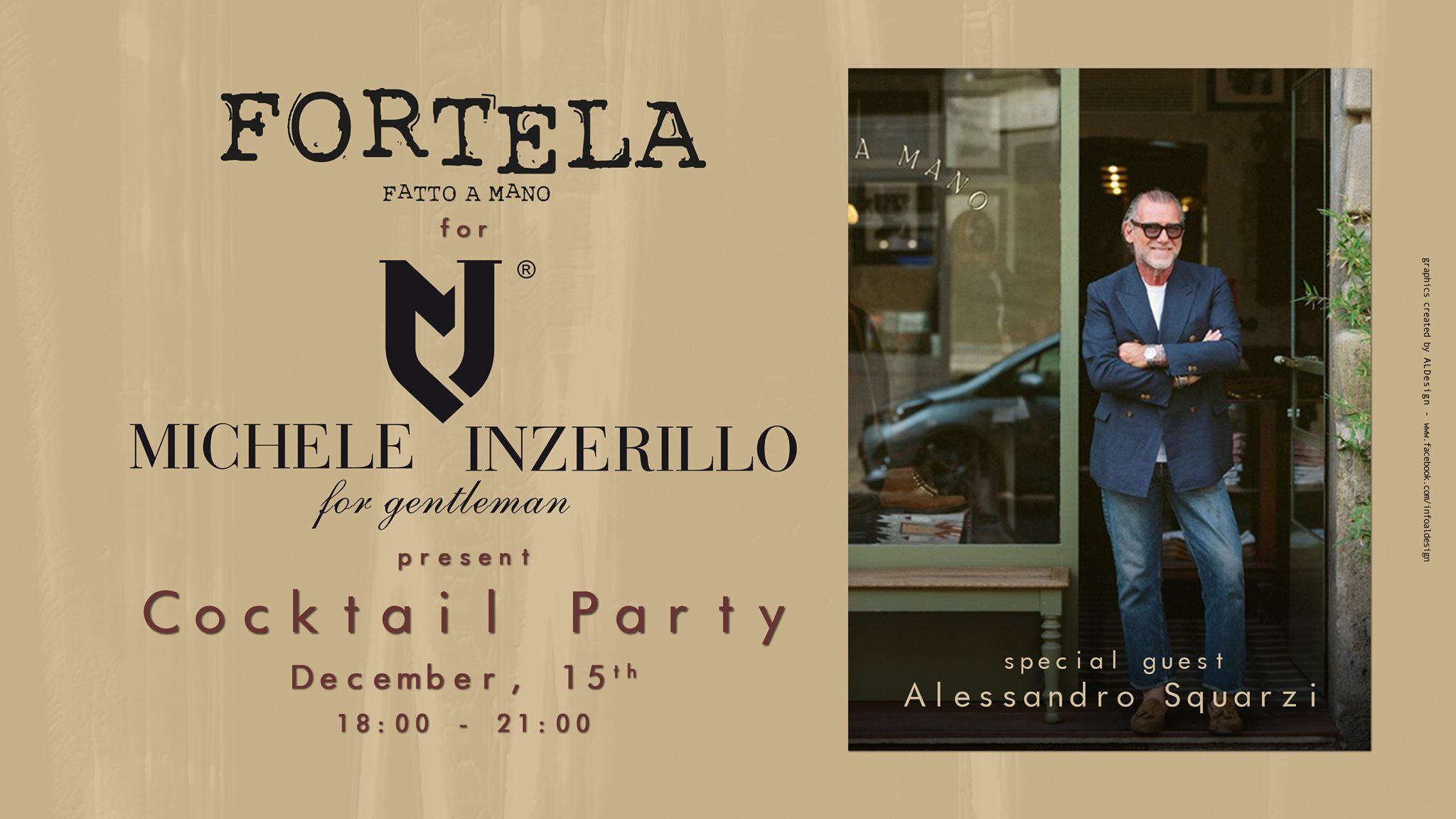 Fortela per Inzerillo: cocktail party all'insegna dello stile