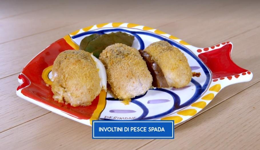 Involtini di Pesce Spada: la ricetta di Giusina in Cucina