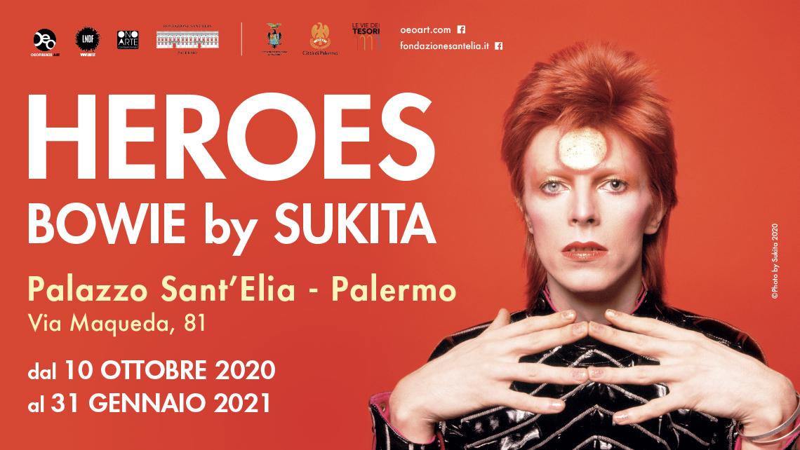 David Bowie negli scatti di Sukita: la mostra a Palermo