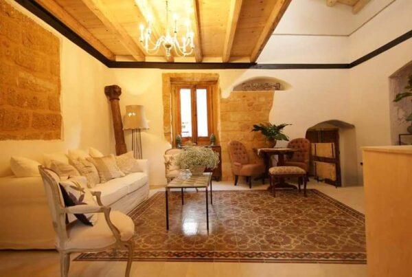 La casa di Lorraine Bracco a Sambuca