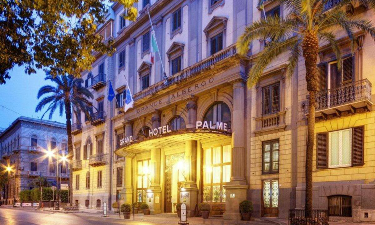 Riapre lo storico Hotel delle Palme di Palermo