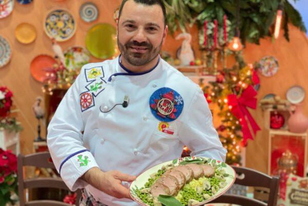 Lo chef Fabio Potenzano