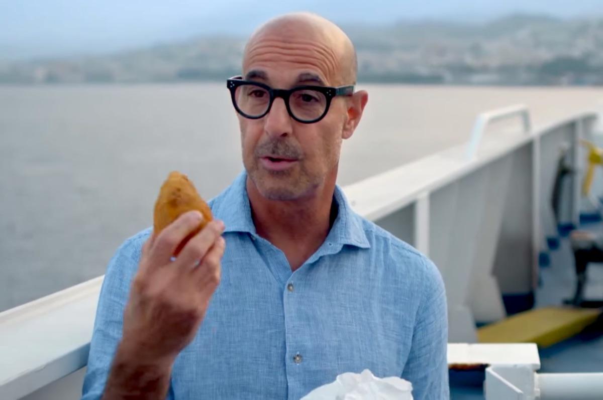 Lo street food siciliano conquista la star di Hollywood Stanley Tucci (VIDEO)