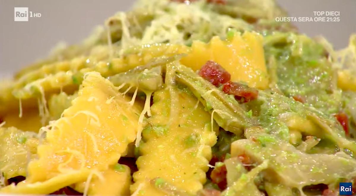 Margherite baciate con ragù: la ricetta siciliana dello chef di Rai1