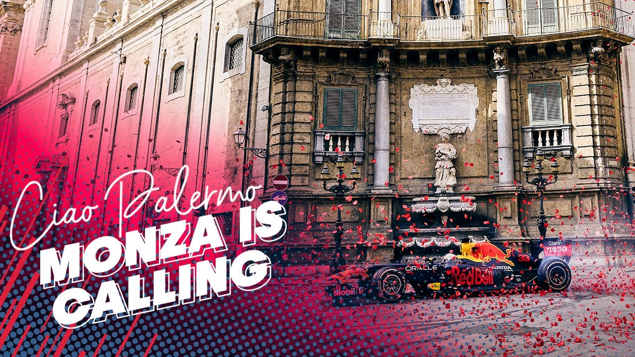 """""""Ciao Palermo"""", l'omaggio firmato Red Bull: il video tra petali di rosa e luoghi iconici"""