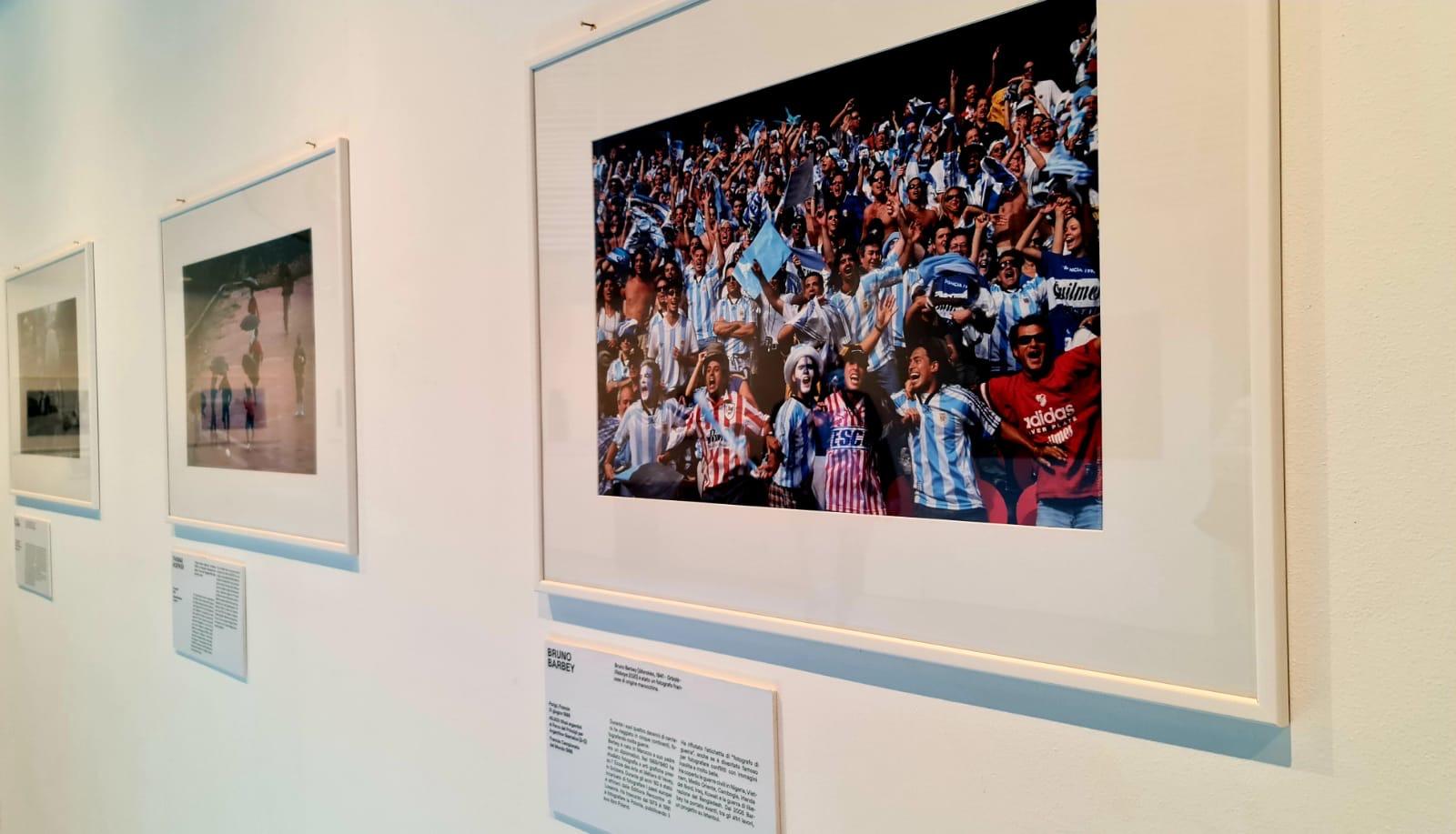 """""""Football no Limits"""", a Palazzo Trinacria  il calcio visto dai grandi fotoreporter di Magnum"""
